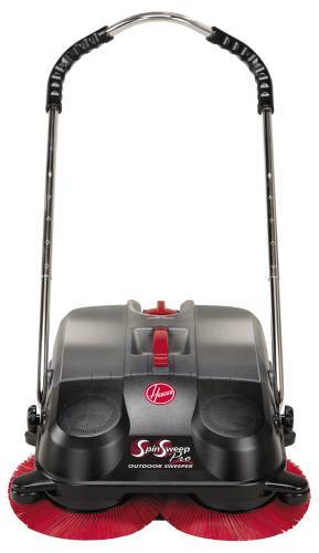 HOOVER SPIN SWEEP PRO OUTDOOR SWEEPER