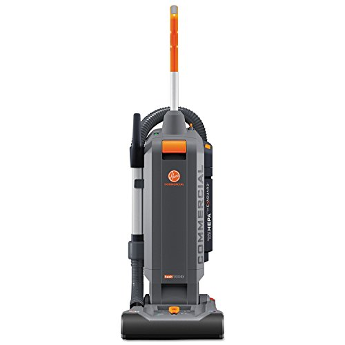 "HushTone Vacuum Cleaner with Intellibelt, 13"", Orange/Gray"