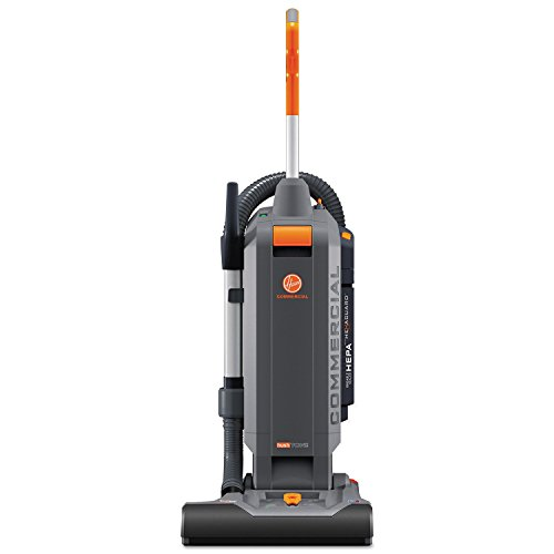 "HushTone Vacuum Cleaner with Intellibelt, 15"", Orange/Gray"