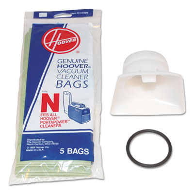 Bag Adapter Kit, White/Black