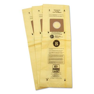 Disposable Vacuum Bags, Allergen B, 3/Carton