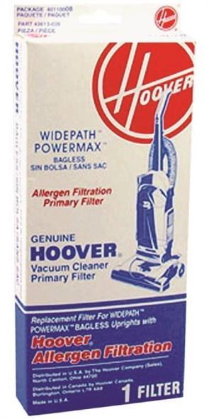 Hoover UPRIGHT BAGLESS FILTER