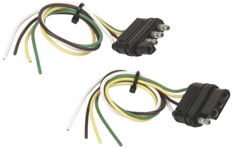 CONNECTOR KIT 4FLT VEH/TRLR 12