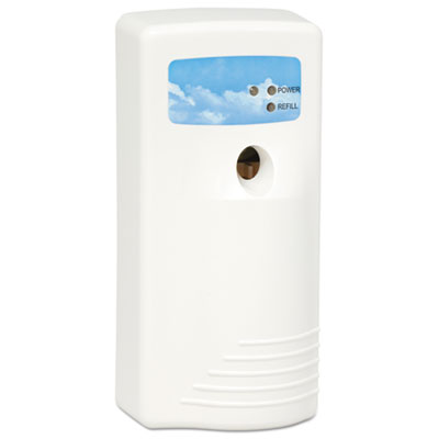 Air Sanitizer Dispenser, Aerosol, 5 x 3 3/4 x 8 1/2, White