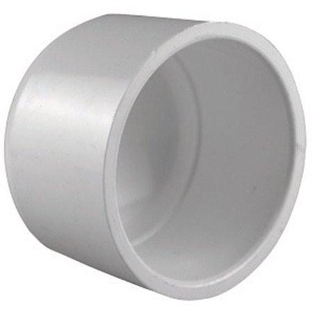 4 IN. PVC SCH40 SOCKET CAP
