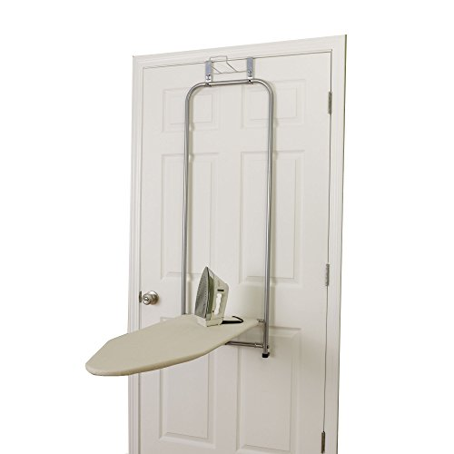 Over-The-Door Ironing Board, Satin Silver