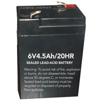 BATTERY REPLACE EMERG/EXIT 6V