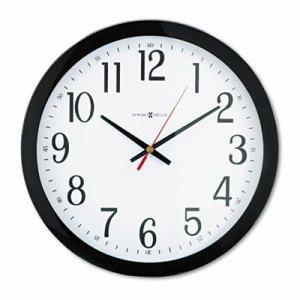 "Gallery Wall Clock, 16"", Black"