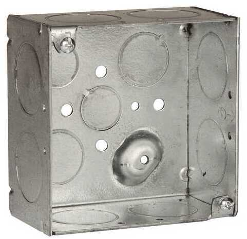 8233 4 IN. SQ 2 1/8 IN. DP WELDED BOX