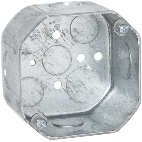 167 4 IN. 2 1/8 IN. OCTAGON BOX