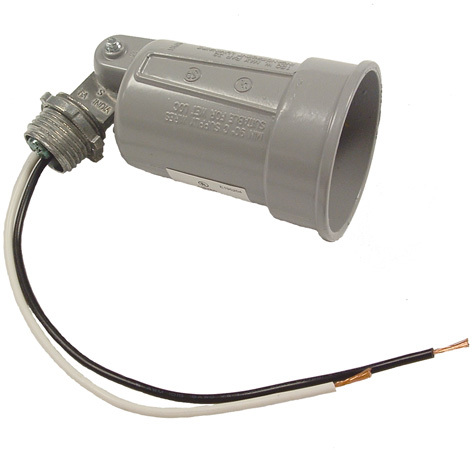 5606-5 GRAY SINGLE LAMPHOLDER
