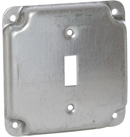 800C 4 IN. SQ SGL TOGGLE BOX COVER