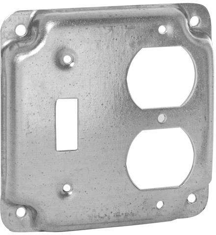 906C 4 IN. SQUARE COMBO BOX COVER