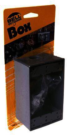 5320-5 GR SGL GANG OUTDOOR BOX