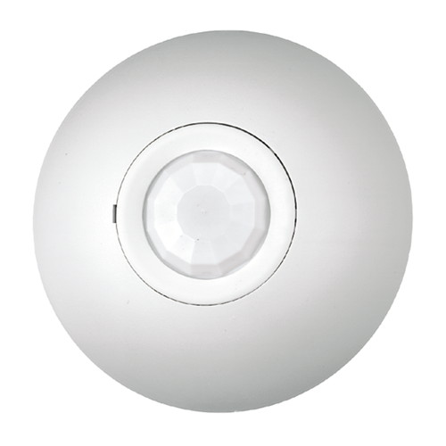 PASSIVE INFRARED CEILING MOUNT OCCUPANCY MOTION SENSOR WITH PHOTOCELL AND RELAY 600 SQ. FT. COVERAGE