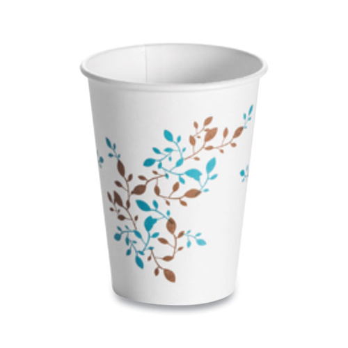 Single Wall Hot Cups 12 oz, Vine, 1,000/Carton