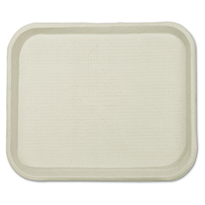 Savaday Molded Fiber Food Trays, 9 x 12 x 1, White, Rectangular