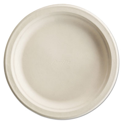 Paper Pro Round Plates, 6 Inches, White, 125/Pack