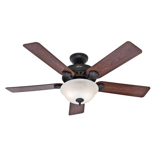 Five Minute Fan Pros Best 28724 Ceiling Fan, 5203 cfm, 5 Blade, New Bronze