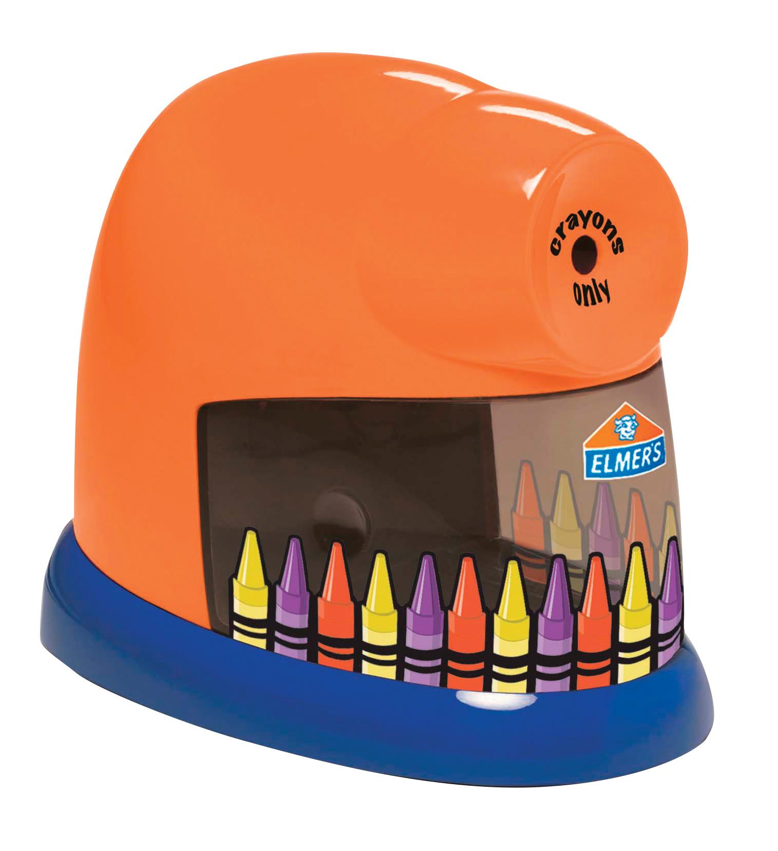 Elmer's CrayonPro Electric Crayon Sharpener w/ Replacable Blade