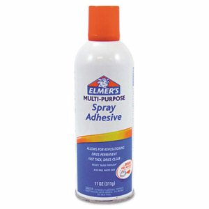 Multi-Purpose Spray Adhesive, 11 oz, Aerosol