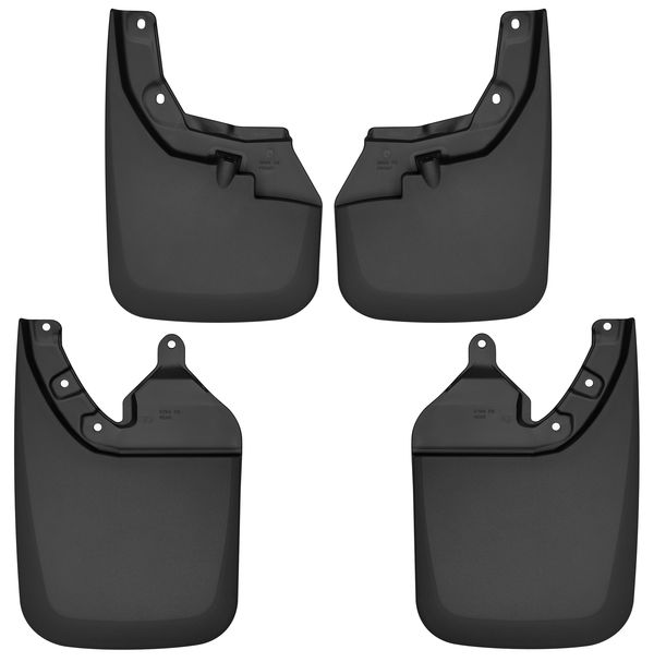 Husky Liners Front & Rear Mudguards for 16-2020 Toyota Tacoma w/OE Fender Flares