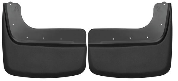 Husky Liners Dually Rear Mud Guards Fits 11-16 Ford F350 Dual Rear Wheels