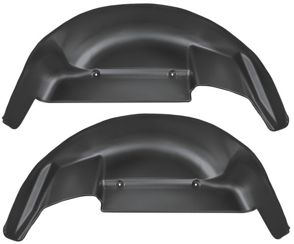 Husky Liners Rear Wheel Well Guards  06-14 FORD F150-Black