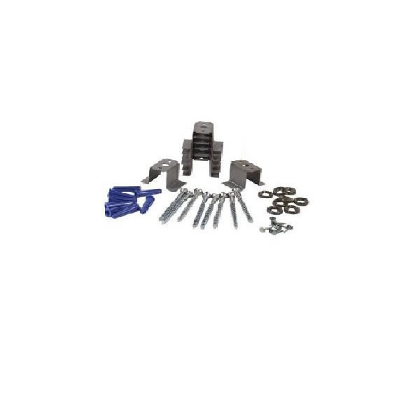 Hy-C Heat Shield Spacer Kit, Pack Of 8 Metal Spacers, 8 Screws, 8 Wall Anchors, And 8 Washers