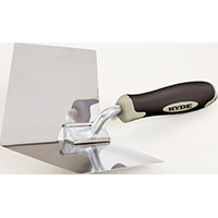 Hyde 09410 Inside Corner Tool, 4 in W Stainless Steel Blade, 5 in Hardwood Handle