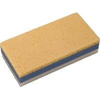 Hyde 45390 3-Layer Drywall Sanding Sponge, Large, 9 in L x 4-1/2 in W, 1-7/8 in T