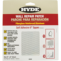 PATCH DRYWALL ALUM 6X6 INCH