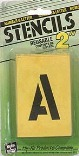 ST2 2 IN. NUMBER/LETTER STENCILS