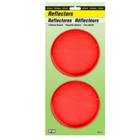 REFLECTOR PRESS ON 3-1/4IN RED