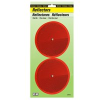 REFLECTOR NAIL-ON 3-1/4IN RED