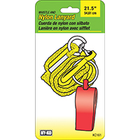 Hy-Ko KC161 Lanyard, 21 in, Nylon