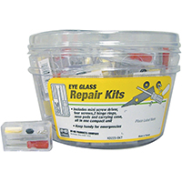 Hy-Ko KB223-BKT Eyeglass Repair Kit, Plastic