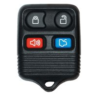 Hy-Ko 19FORD900F Keyless Entry Key Fob, 4 Button, For Use With O-FORD900F Ford
