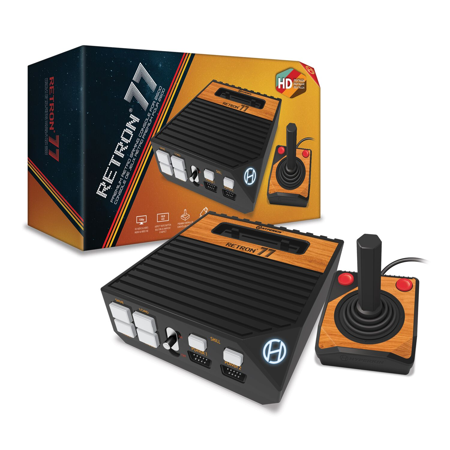 HYPERKIN M07280 RETRON 77 HD GAMING CONSOLE FOR 2600