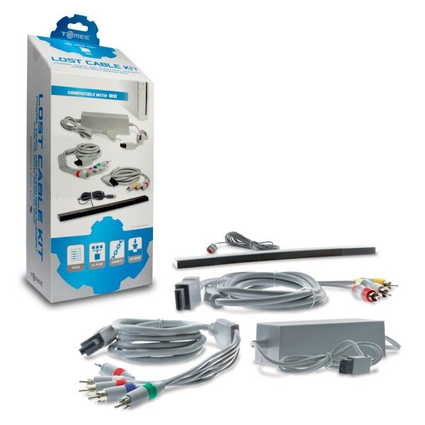 HYPERKIN M05609 LOST CABLE KIT FOR WII TOMEE