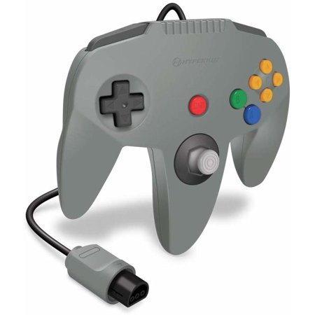 HYPERKIN M07260-GR GRAY CAPTAIN PREMIUM CONTROLLER FOR N64