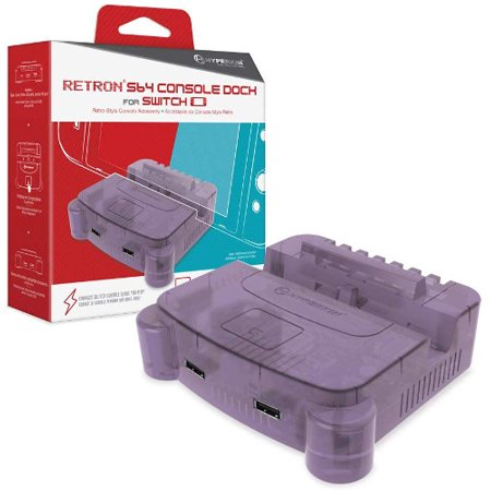HYPERKIN M07390-PU PURPLE RETRON S64 CONSOLE DOCK FOR