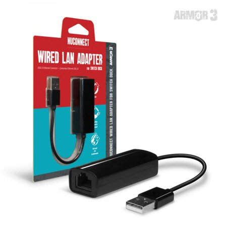 HYPERKIN M07398 ARMOR3 NUCONNECT WIRED LAN ADAPTER FOR