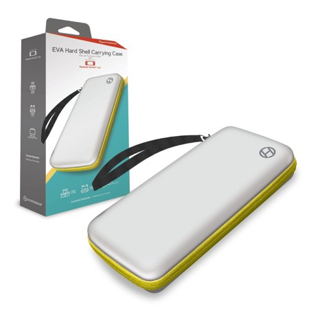 HYPERKIN M07415-WHYE WHITE AND YELLOW EVA HARD SHELL CARRYING