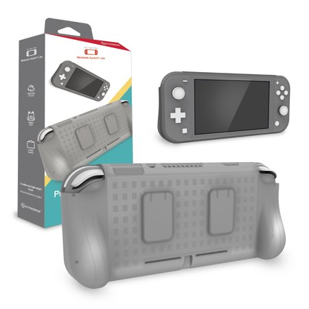 HYPERKIN M07418-GR GRAY PROTECTIVE TPU GRIP CASE FOR NINTENDO