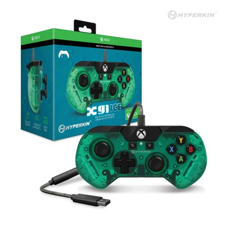 HYPERKIN M01628-AG AQUA GREEN WIRED CONTROLLER FOR XBOX ONE