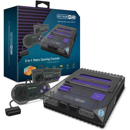 HYPERKIN M02888-SB RETRON 2 HD GAMING CONSOLE FOR NES, SUPER