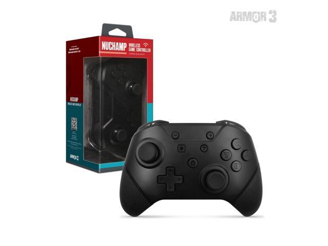 ARMOR3 M07467-BK BLACK NUCHAMP WIRELESS GAME CONTROLLER