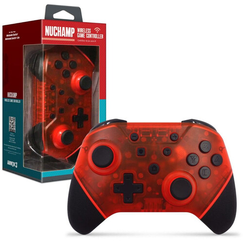 ARMOR3 M07467-RR RUBY RE NUCHAMP WIRELESS GAME CONTROLLER FOR