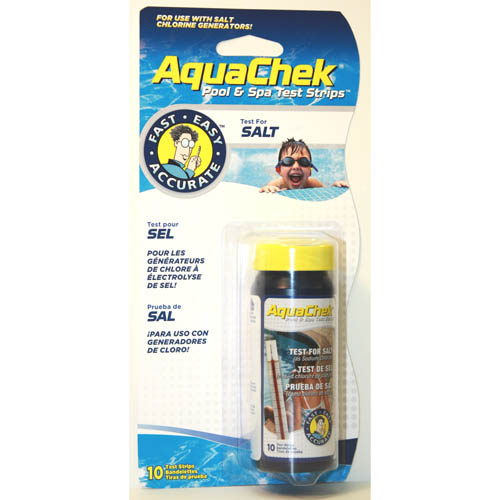 Water Testing,AQUACHEK,White Salt Titrators,Test Strips,10   Count,For Cases Of 12 use 561140A